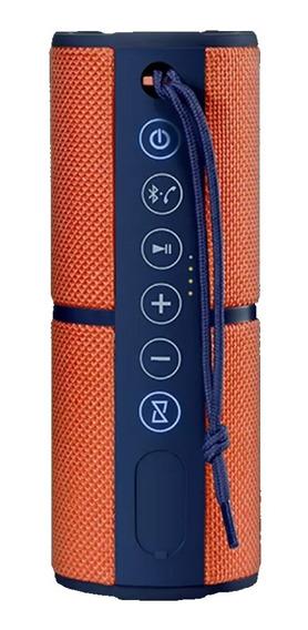 Caixa De Som Multilaser Pulse Speaker Sp246 15w Laranja
