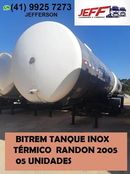 Bitrem Tanque Inox Térmico Randon 2005