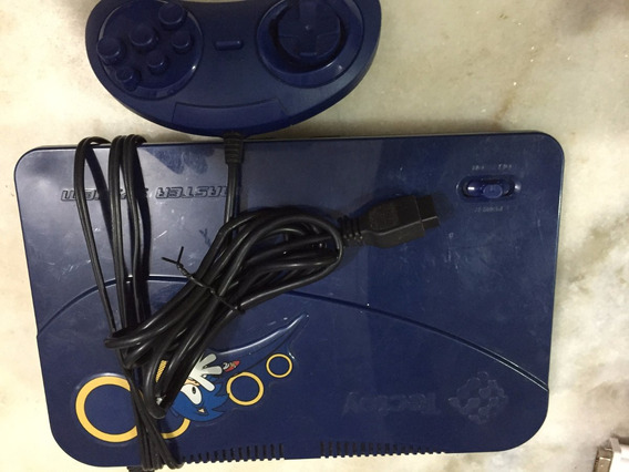 Master System Evolution Blue 132 Jogos Tectoy Tec Toy