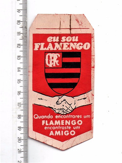 Mini Flamula Antiga C. R. Flamengo - Rj - Anos 60