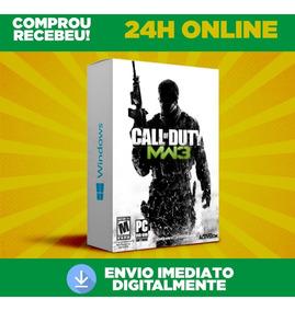 Call Of Duty Modern Warfare 3 Pc + Tradução - Envio 0s