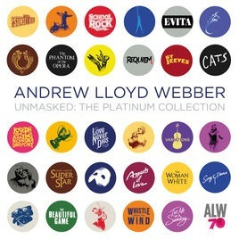 Cd Andrew Lloyd Webber Unmasked The Platinum Collection