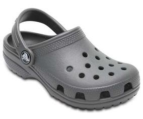 Zapato Crocs Infantil Classic K Gris