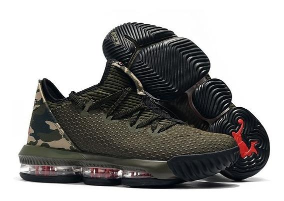 Zapatos Botas Botines Basket Nike Lebron 16 Low 40-46