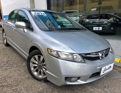 Honda Civic Lxl 1.8 Automático Prata - 2011