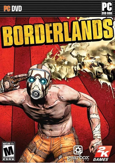 Game Borderlands Para Pc Midia Fisica Deslacrado ! Sem Uso!!
