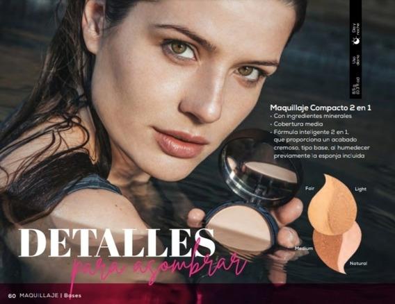 Maquillaje Compacto Dos En Uno