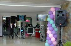 Alquiler De Sonido, Karaoke, Pantallas, Iluminacion Led