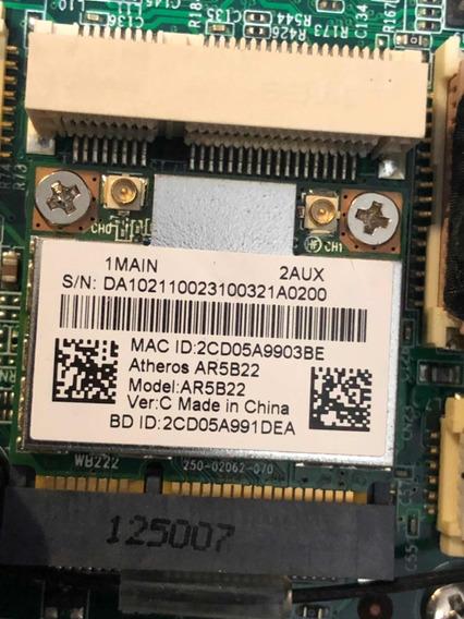 Placa Wifi Atheros Ar5b22 Dual Band 2.4 5.8 + Bluetooth 4.0