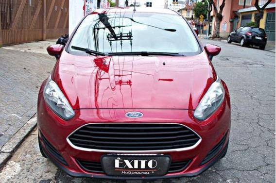 Ford Fiesta 1.5 S Hacht Flex Manual Vermelho 2014