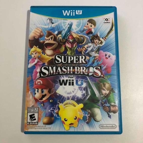 Super Smash Bros Wii U Mídia Física Original Nintendo