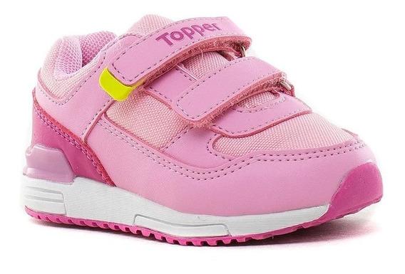 Zapatillas Topper Bebe Velcro Lele Kids 52351/3/4