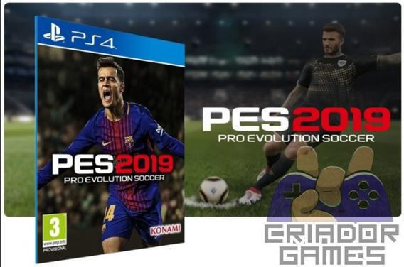 Pes 2019 Ps4 Pro Evolution Soccer Ps4 Digital Psn Vitalício