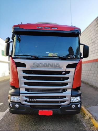 Imagem 1 de 15 de Scania R-440 6x4 Bug Leve 2016 Único Dono 540.000 Km Origina