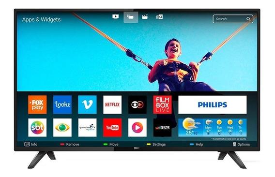 Smart Tv Led 43 Philips Full Hd Wi-fi, Conversor Digital