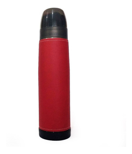 Termo Acero Inoxidable Lumilagro Luminox 1 L Liso Rojo