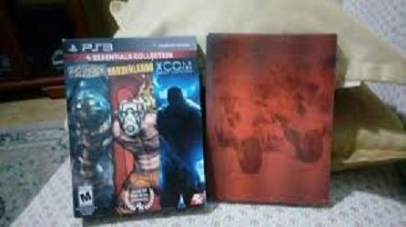 Bioshock + Borderlands + Xcom Para Ps3