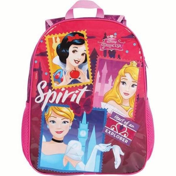 Mochila Escolar Princesas Infantil Meninas Disney Linda