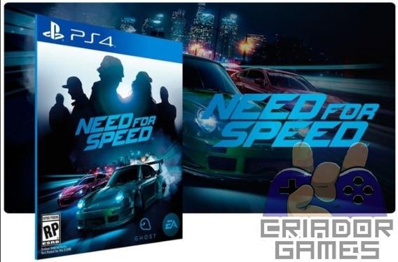 Need For Speed Ps4 Digital Psn Vitalício