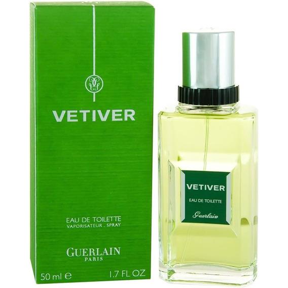 Perfume Guerlain Vetiver Masculino Edt 50ml Original