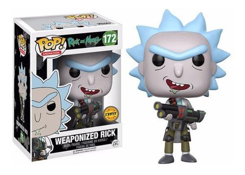 Imagem 1 de 1 de Funko Pop Rick And Morty Weaponized Rick 172