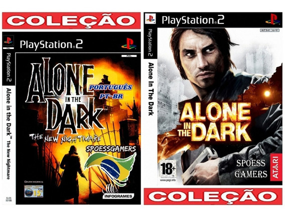 Alone In The Dark Collection 1 Pt-br (2 Jogos) Ps2 Patchs