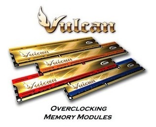 Memoria Team Vulcam Gamer Ddr3 Kit 2x4gb 1600mhz Oem Gtia