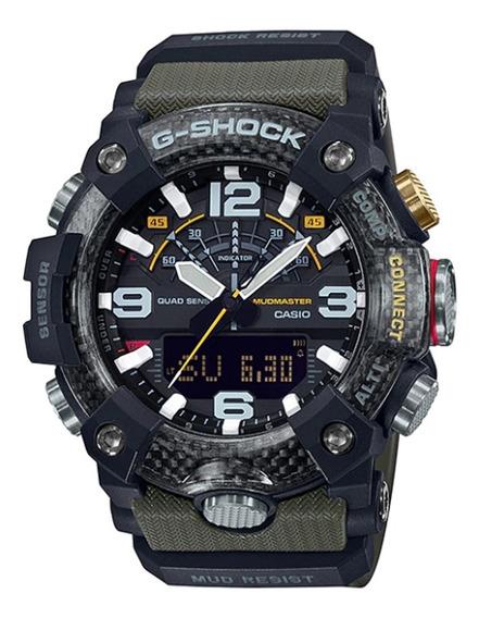 Reloj Casio G-shock Mudmaster Original Ggb1001a3cr Time Square