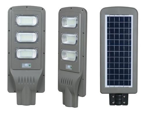 Lampara Led 90w Con Panel Solar Para Poste