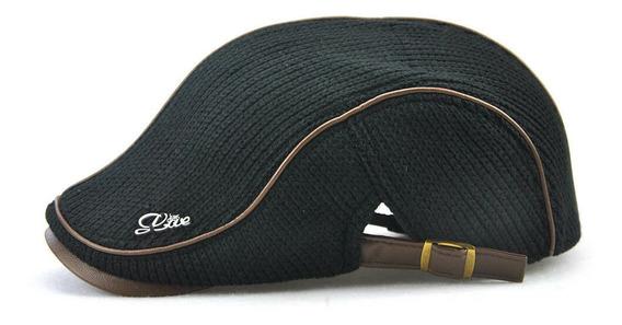 Boina Tejida Gorra Sombrero Tipo Gatsby Golf Térmica.