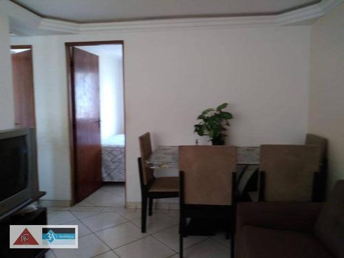 Imagem 1 de 18 de Apartamento Com 2 Dormitórios À Venda, 48 M² Por R$ 220.000 - Jardim Bela Vista - Taubaté/sp - Ap5900