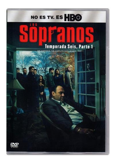 Los Sopranos Temporada 6 Seis Parte 1 Dvd