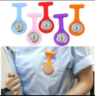 Reloj De Enfermera Colgante Broche. Varios Colores