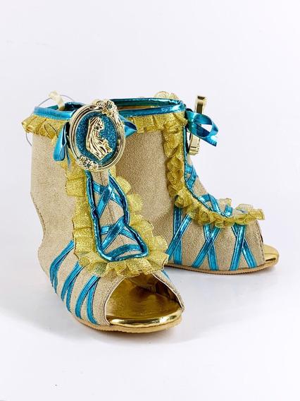 Sapato Princesa Pocahonta Original Loja Disney P/entrega