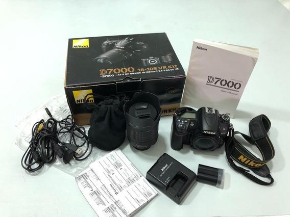 Camera Nikon D7000 + Lente 18-105