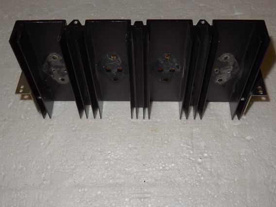 Pioneer Sx-828 Receiver Dissipador Transistores De Saída
