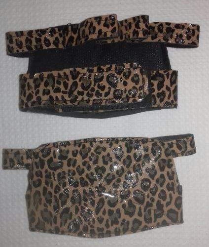 Imagem 1 de 1 de Luva Academia Feminina Oncinha Com Velcro Ajustável Promoção