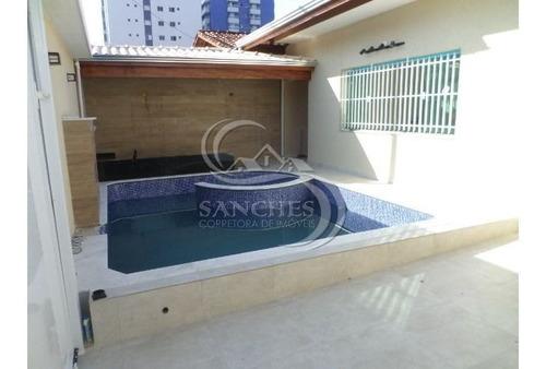 Imagem 1 de 15 de Casa Isolada 3 Dormitórios Sendo 2 Suítes Em Praia Grande - Balneário Maracanã