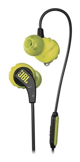 Fone de ouvido JBL Run amarelo