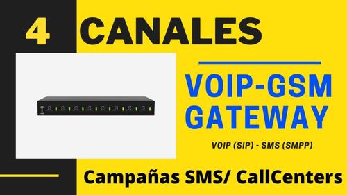 Gateway Voip Gsm De 32 Dinstar Y 4 Canales