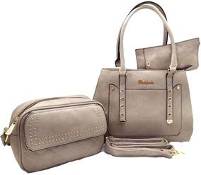 Bolsas Kit Com 3 Lindas Bolsas Super Promoção Total Luxo