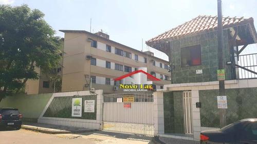 Apartamento Com 3 Dormitórios À Venda, 61 M² Por R$ 127.000,00 - Cajazeiras - Fortaleza/ce - Ap0693