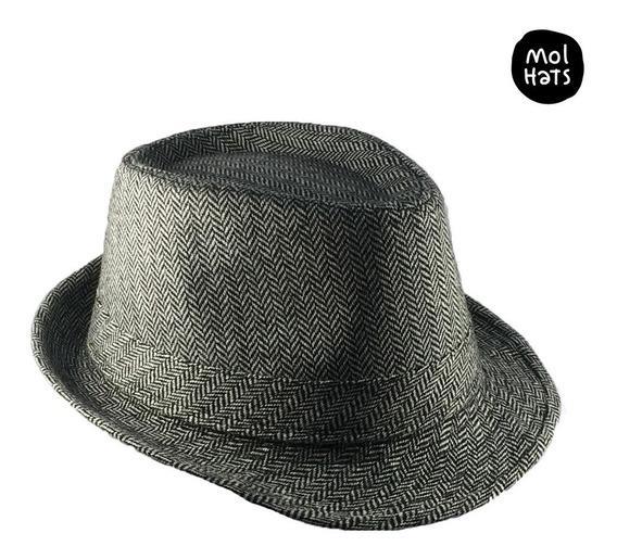 Sombrero Fedora Tipo Lana Elegante Y Cool Tango Rock Pop