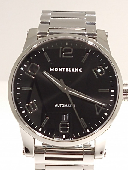 Relógio Montblanc Timewalker Large Automático Md 09672 Novo