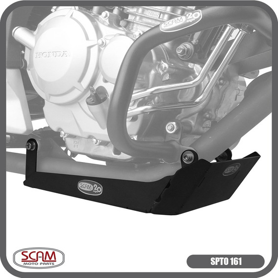 Protetor Carter Honda Cb Twister250 2016+ Scam Spto161
