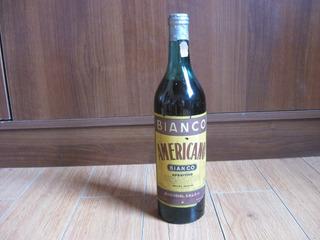 Antigua Botella De Aperitivo Americno Bianco, Cerrada