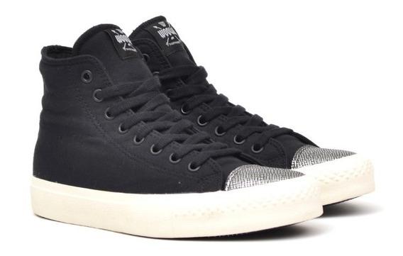 Botitas Botas Zapatillas Sneakers Cuero Y Lona