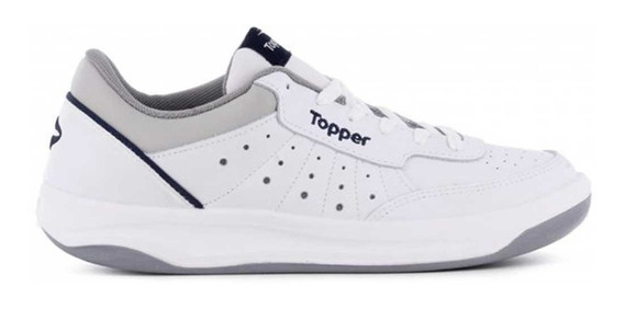 Zapatillas Topper X Forcer Blanco Azul Gris (1870)