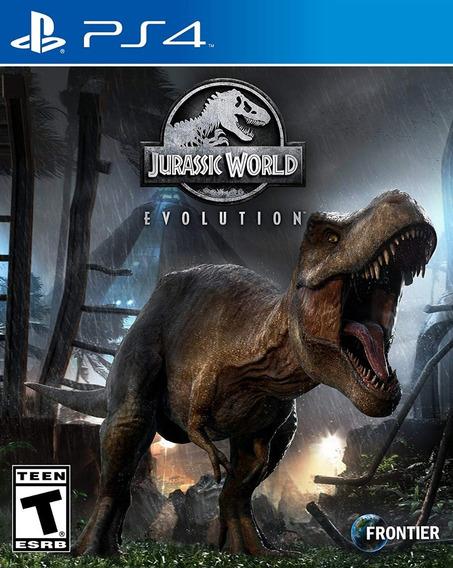 Jurassic World Evolution - Ps4 - Mídia Física