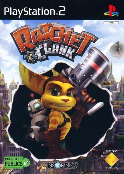 Ratchet Clank Original Ps2 - Versão Japonesa (disco)